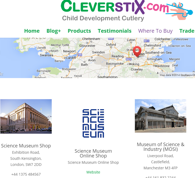 CleverstiX.com – new website to support Retailers