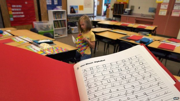 Handwriting decline continues – replaced by typing lessons