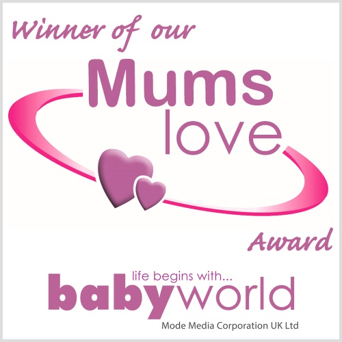 CleverstiX wins the babyworld 'Mums Love Award'!