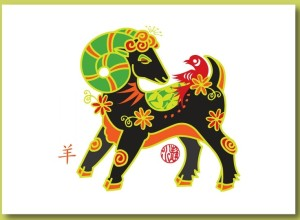 Chinese New Year of the Goat / Ram / Sheep