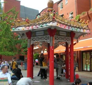 New China Gate Chinatown Pagoda