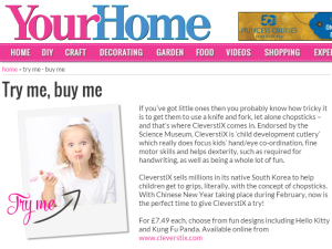 Your Home 'Try Me' product - CleverstiX