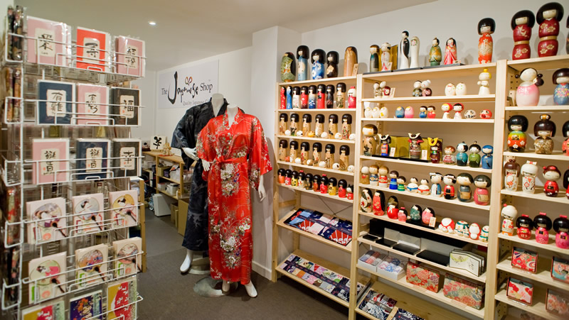 The Japanese Shop showroom
