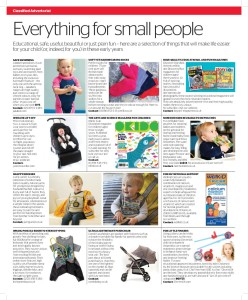 "Independent newspaper Parent section ADVERTORIAL PAGE with CleverstiX 21 March 2015 - use code ""INDY25"" for 25% off CleverstiX.com"