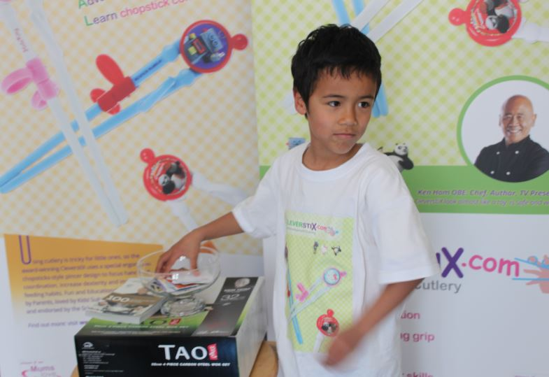 Harrogate Nursery Fair 2015: CleverstiX Ken Hom Prize Draw - Video