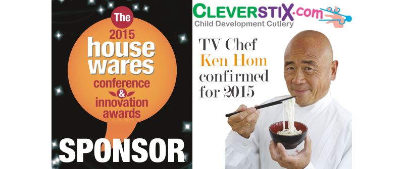 Ken Hom to present CleverstiX at the 2015 Housewares Conference