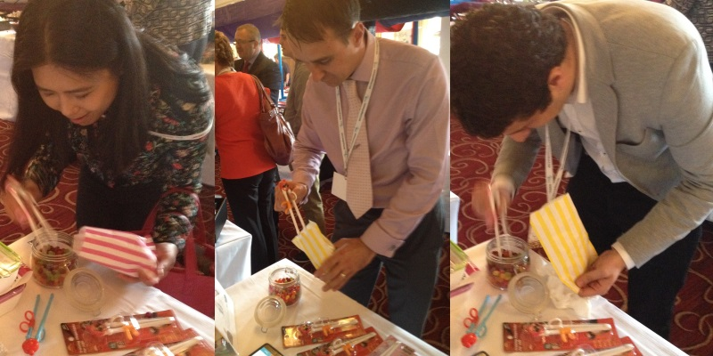Housewares Conference 2015 CleverstiX Jellybean Challenge