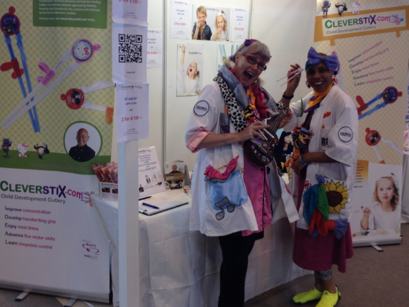 CleverstiX.com at The Baby Show: 350 take part in our Jellybean Challenge!