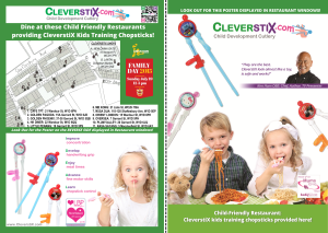 CleverstiX Flyer FRONT & BACK Chinatown Family Day July 2015