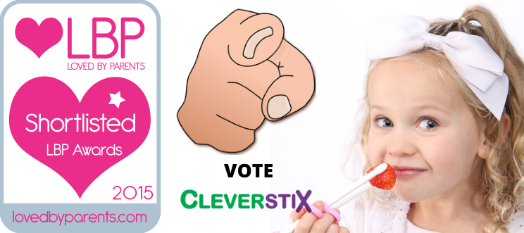 VOTE CleverstiX to win a Ken Hom 5-piece Wok Set: prizes for *everyone* guaranteed!