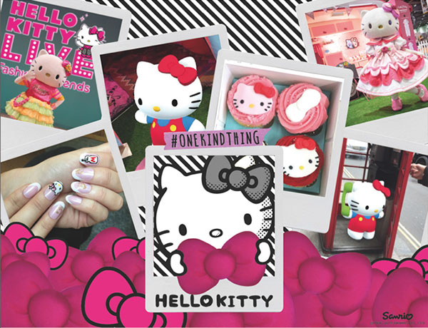 "CleverstiX on UK tour with Hello Kitty's ""#OneKindThing"""