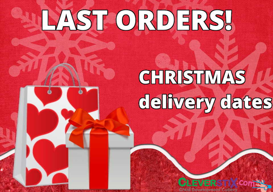 CleverstiX shipping Christmas dates 2016