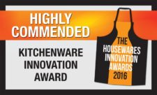 """Housewares Awards 2016 KITCHENWARE INNOVATION """"Highly Commended"""""""