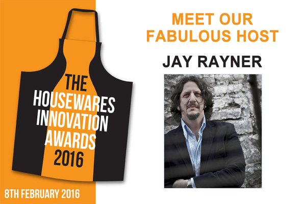 Housewares Innovation Awards 2016 Jay Rayner