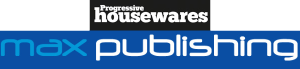 Progressive Housewares magazine and Max Publishing logos