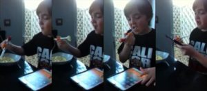 """Mark, """"severely autistic"""", successfully using #CleverstiX at 1st attempt"""