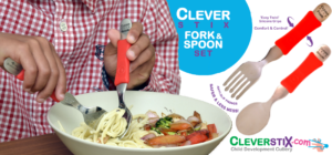 Clever Fork & Spoon Set from CleverstiX.com