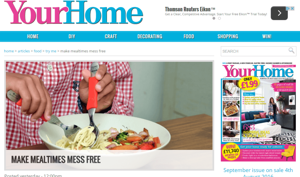 Your Home magazine Clever Fork & Spoon Set