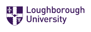 Loughborough University logo (white background)