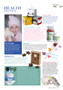 CleverstiX loved by Angels & Urchins, Health News Winter 2015