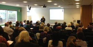 Dr Angela Webb speaking at the NHA Members Day 2017