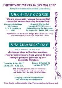 NHA Members Day 2017 flyer